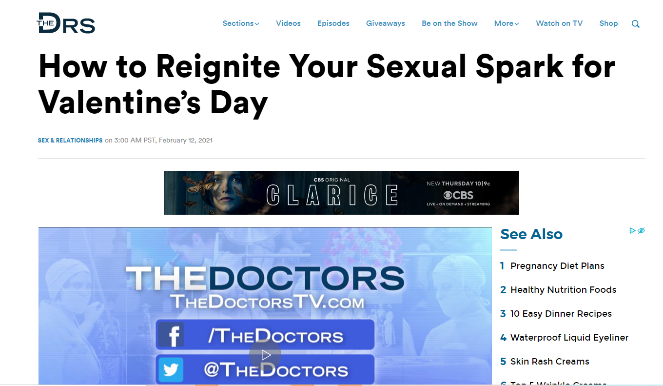 Tips to have a Sexy Valentine's Day